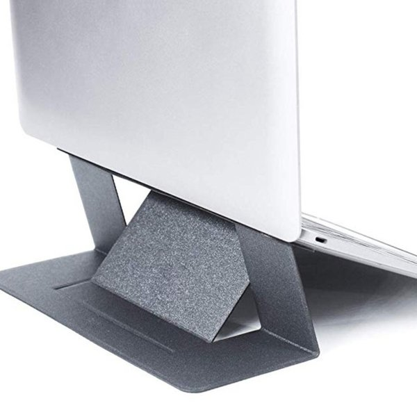 Invisible Laptop Adhesive Stand Folding Adjustable Bracket Portable Tablet Holder for iPad MacBook Lenovo Samsung Laptops