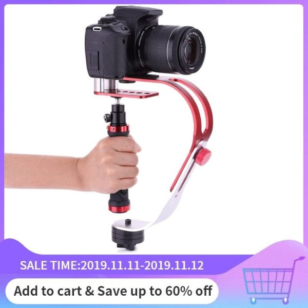 Metal Handheld Stabilizer Gimbal Universal for Gopro DSLR SLR Digital Camera Sport DV Aluminum estabilizador de