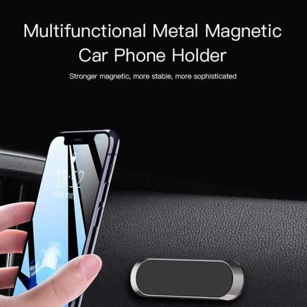 Mini Magnetic Car Mount Phone Holder sticker Mobile Phone Stand Mount for iPhone 11 XS X