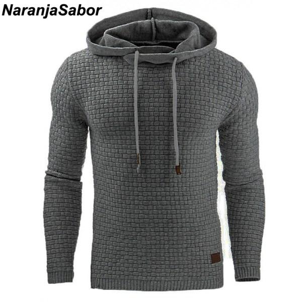 NaranjaSabor 2020 Autumn Men s Hoodies Slim Hooded Sweatshirts Mens Coats Male Casual Sportswear Streetwear Brand