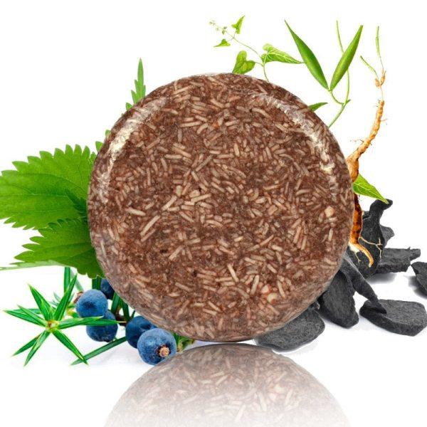 Organische Hair Darkening Shampoo Bar Oil Control Nourishing Moisturizing Soothing Cleaning Seife 100 Erfrischende Antischuppen