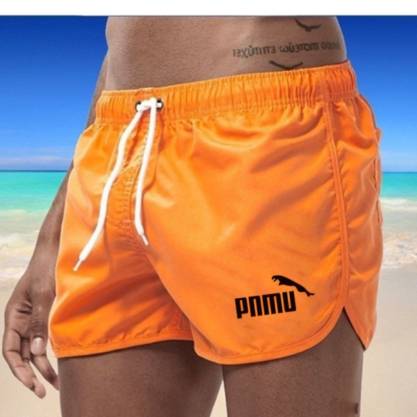 Summer beach swimsuit men s quick drying swimwear men comfortable breathable swimwear beach shorts sexy Brand