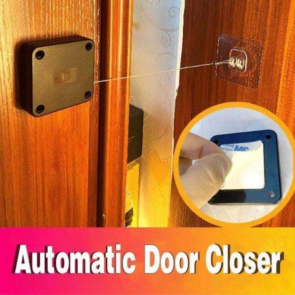 1pcs Punch free Automatic Sensor Door Closer