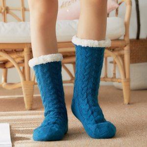 Glglgege twist stripes Winter Women Socks Women Non slip Adult Floor Socks Indoor Warm Shoes Soft 57.jpg 640x640 57