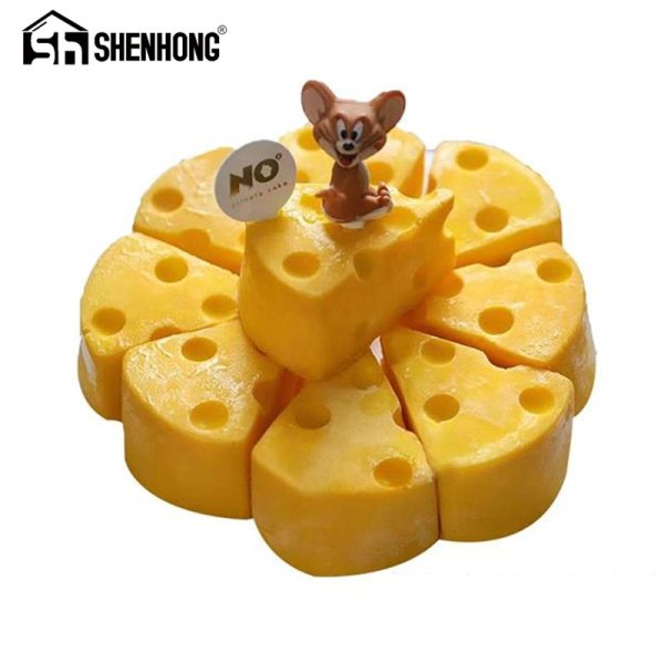 SHENHONG Cheese Shaped Cake Mold For Baking Dessert Ring Art Mousse Silicone 3D Mould Silikonowe Moule