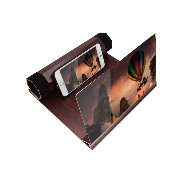 12 inch Mobile Phone Screen Magnifier Chasing Artifact 3D Projection Cinema Effect Phone Screen Zooms Magnifier