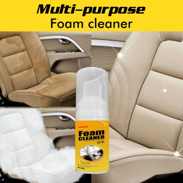 30ml Multi purpose Foam Cleaner Anti aging Cleaning Automoive Car Interior Home Cleaning Foam Cleaner Home