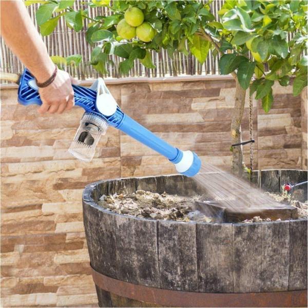 8 In 1 Multifunctional Garden Watering Irrigation Water Sprayer High Pressure Cleaning Car Wash Gun Built 3