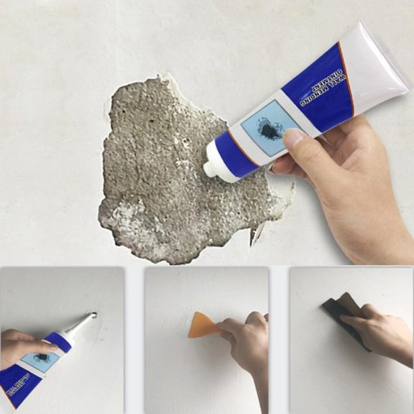 Cleaning Crack Repair Waterproof Paste Construction Easy Use Ointment Latex Tools Hole Wall Mending Scratch Non