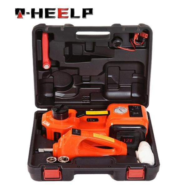 E HEELP 3 in 1 5ton Car Jack Electric Hydraulic Jacks Car Floor Jack 12V with