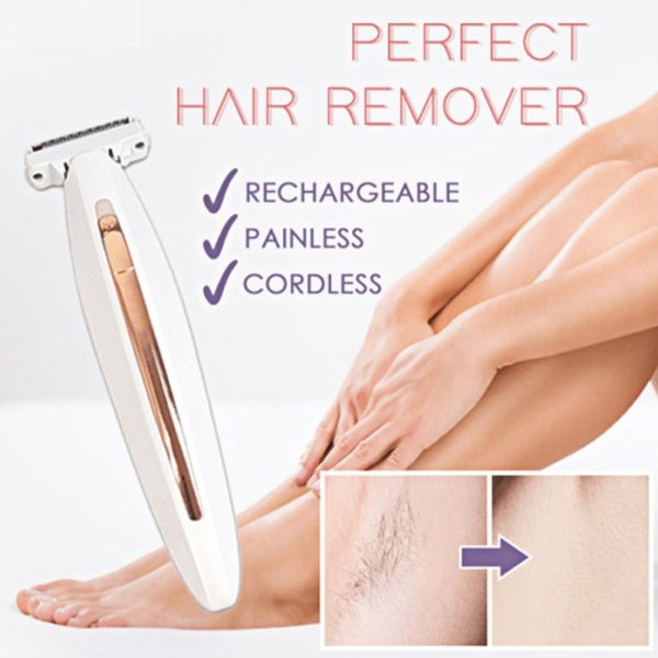Laser Epilator Body Hair Removal Rechargeable Women Remove Face Underarm Bikini Leg Hair Shaver Trimmer Summer