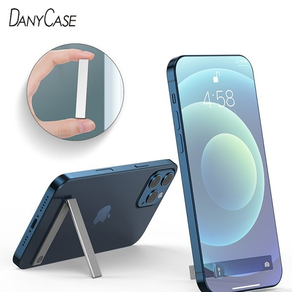 Universal metal phone holder Universal phone magnetic car holder Ultra thin smart back sticker mobile phone