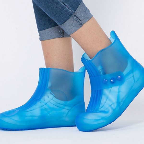 high quality new Rain boots waterproof PVC rubber boots non slip water shoes cover rainy day