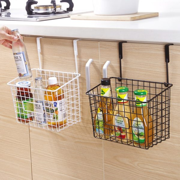 Grid Hanging Basket Iron Wall Mounted Decoration Innovative Flower Pot Shelf Small Items Display Rack Indoor