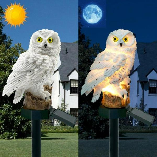 Hot Sell Owl Solar Light With Solar LED Outdoors Solar Light Solar Lamp Solar Garden Light