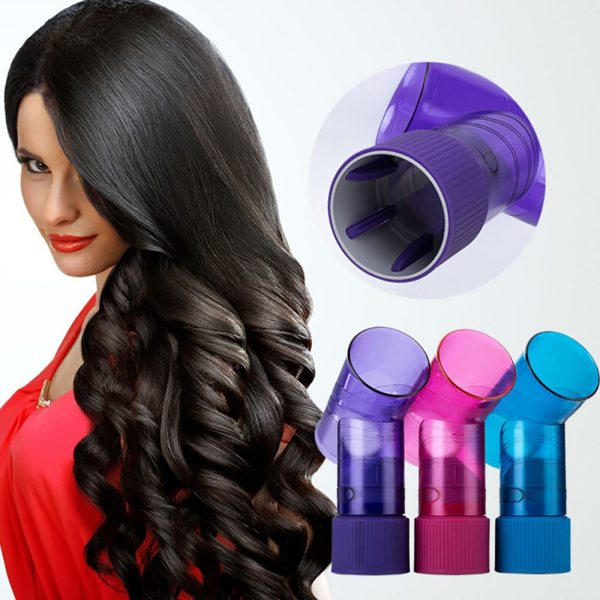 Universal Interface Hair Cover Diffuser Disk Hairdryer Curly Drying Blower Hair Curler Styling Tool roller curler
