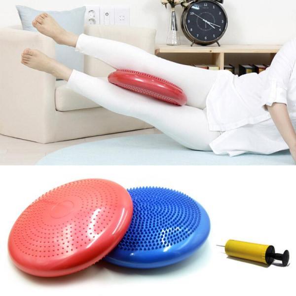 1pcs Anti riot Balanced Yoga Massage Plate Cushion Stability Disc Balance Wobble Pad Ankle Knee Board