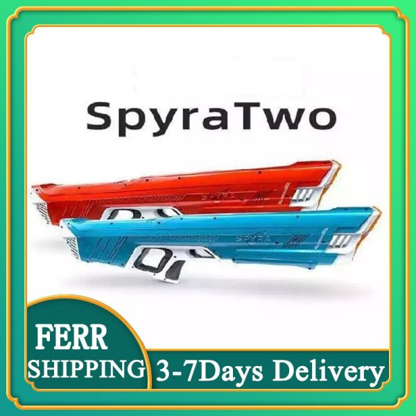 2021 New Product Spyra Two Water Gun Two large Capacity Outdoor Water Fight Toy Constant Pressure