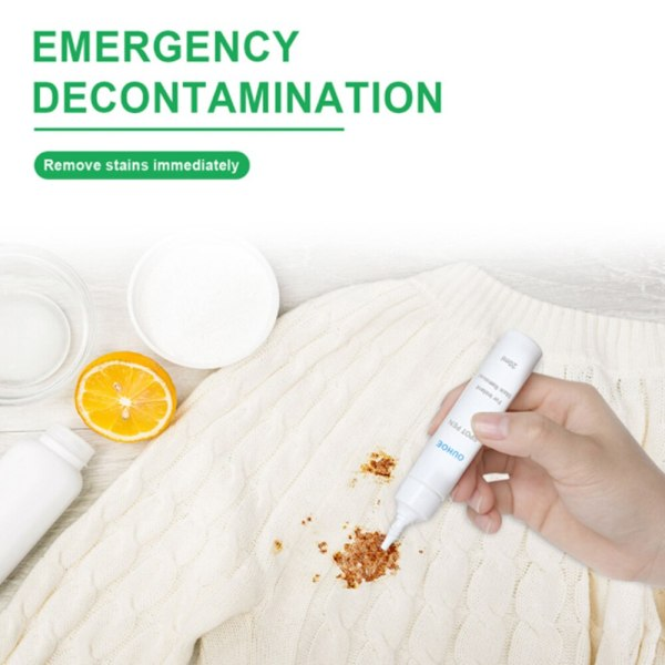 Emergency Stain Rescue Stain Remover Decontamination and rust removal agent for clothes rapid decontamination and rust