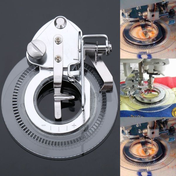 Multi Functional Daisy Flower Stitch Sewing Machine Presser Foot Feet Stitch Foot Snap On Presser Foot
