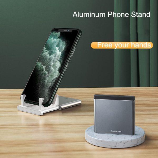 Padcover Slim Card Design Mobile Phone Stand Holder Desktop Tablet Brackter For iPhone Huawei Xiaomi Samsung