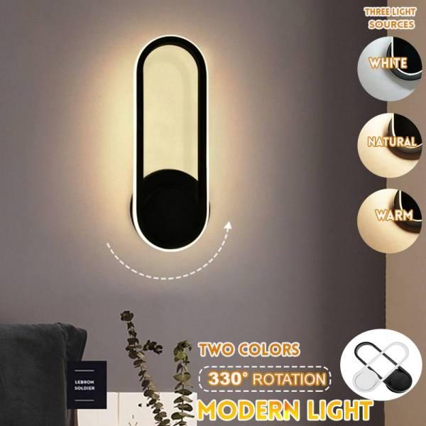 Nordic LED Wall Lamp 24W 85 265V Bedroom Bedside Light Indoor Living Room Balcony Aisle Wall