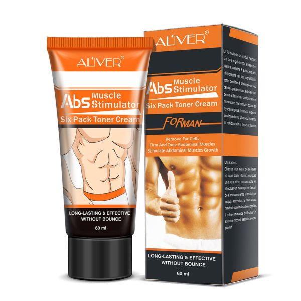 Slimming Cream Fat Burning Muscle Belly Weight Loss Treatment for Shaping Abdomen Buttocks Powerful Abdominal Muscle