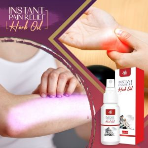 Instant Pain Relief Herb Oil
