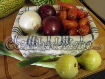 Os legumes - A cebola