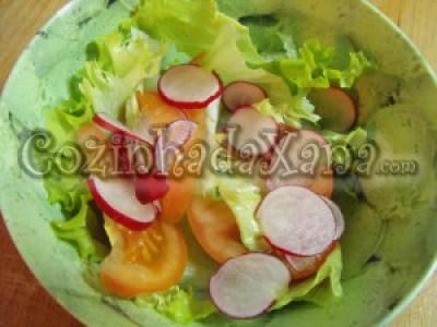 Salada de rabanete