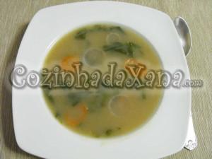 Sopa de rabanete