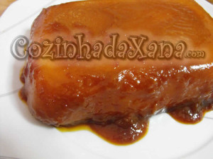 Pudim de batata-doce