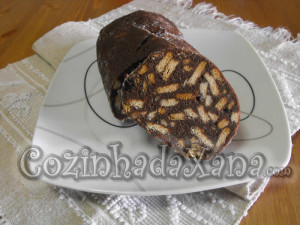 Salame de chocolate