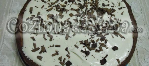 Tarte de lama do Mississipi (tarte de chocolate)