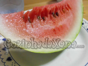 Doce de casca de melancia