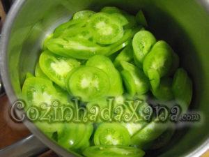 Doce de tomate verde