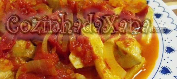 Frango de tomatada