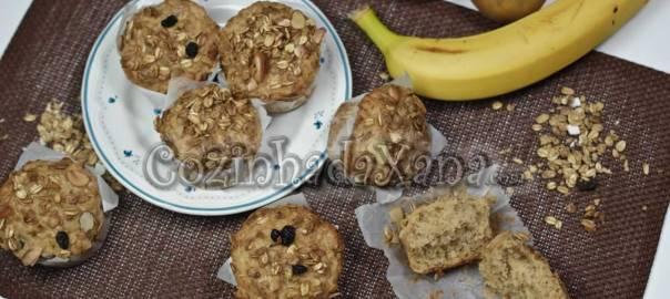 Muffins de muesly (sem ovo)