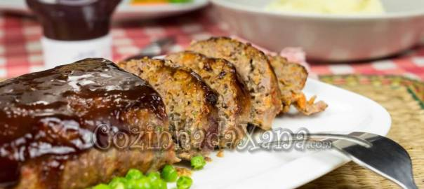 Rolo de carne no forno