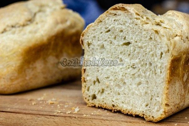 Pão branco na MFP