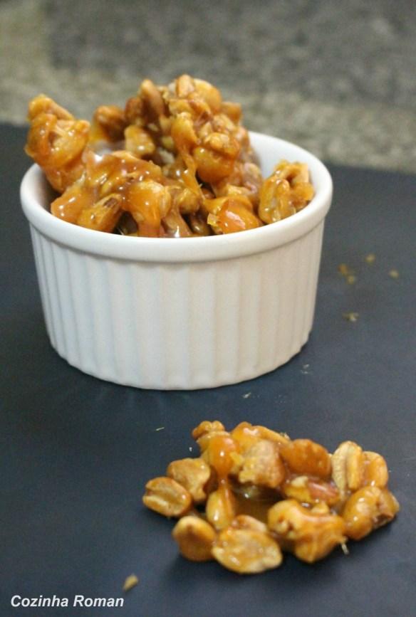 praline de amendoim