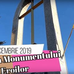Sfintirea Monumentului Eroilor Cozmesti