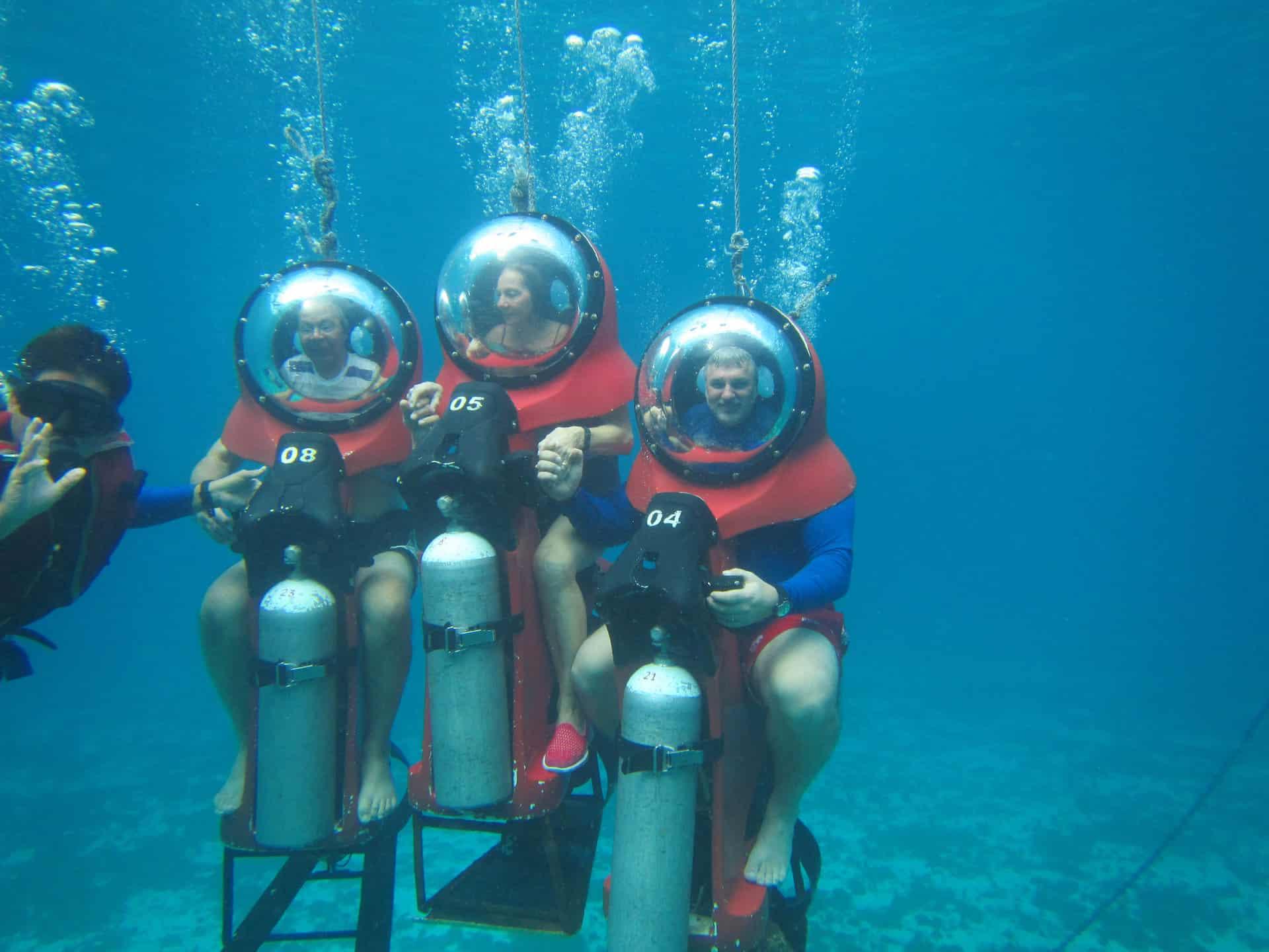 cozumel mini submarine adventure - cozumel cruise excursions