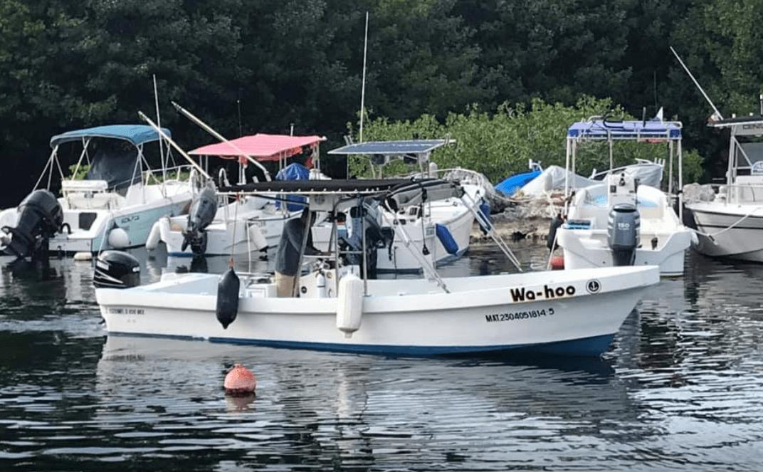 Cozumel My Cozumel Wahoo Boat Rental