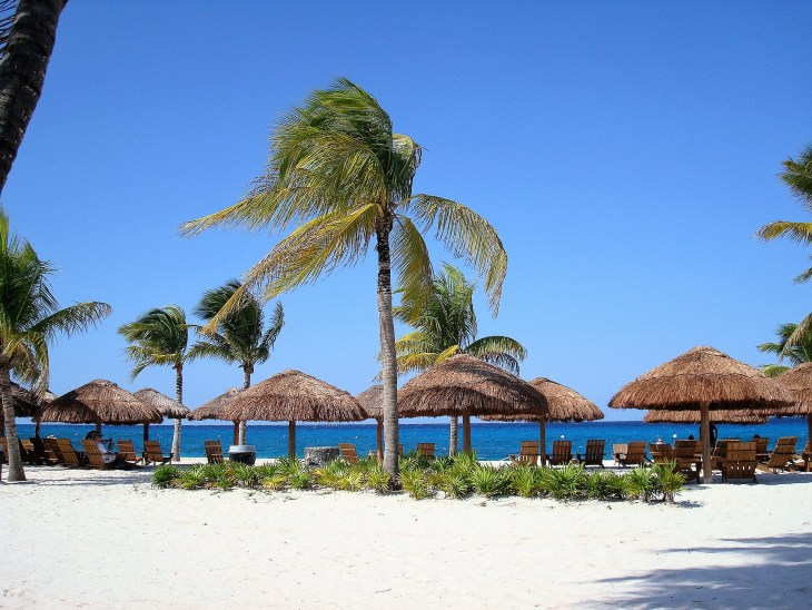 Cozumel beach clubs
