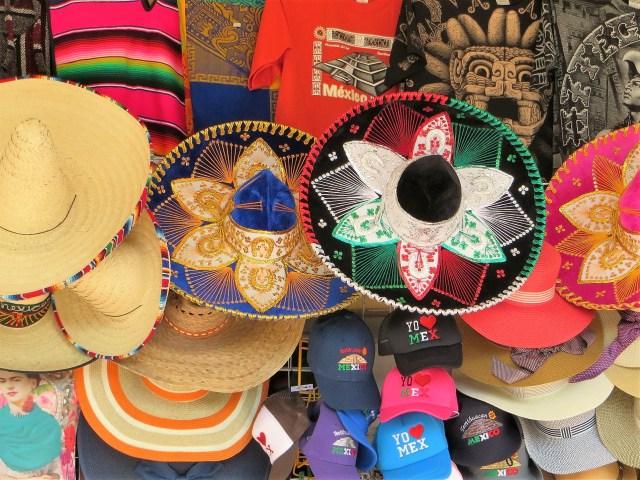 Cozumel My Cozumel shopping sombreros