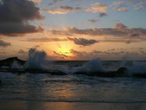 Cozumel My Cozumel East side sunrise