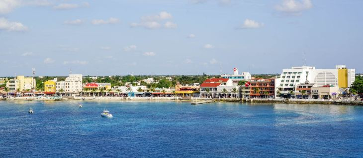 Cozumel west side