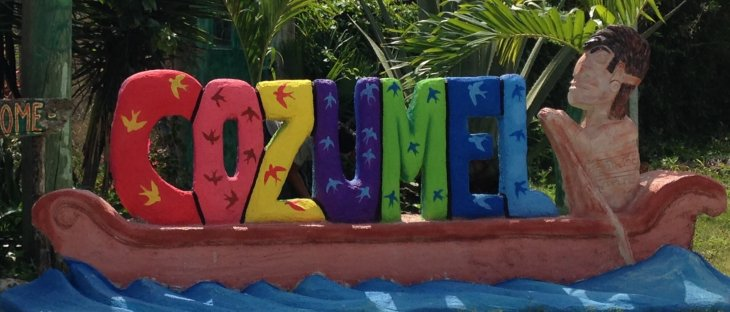 Cozumel sign