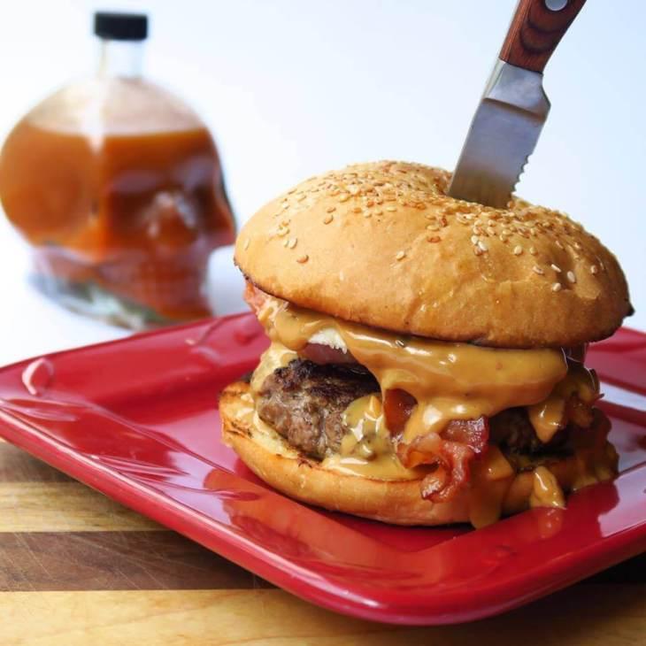 Cozumel A&D burger